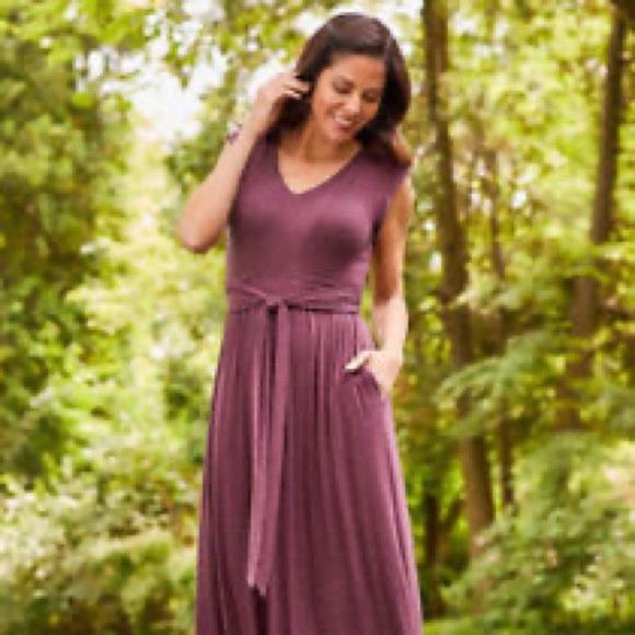 Matilda Jane Dresses & Skirts - NWT Deep Purple maxi dress